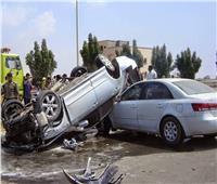مصرع أمين شرطة وإصابة 7 آخرين في حوادث طرق بالمنيا