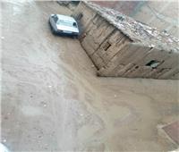 شاهد | أمطار غزيرة تضرب الإسماعيلية