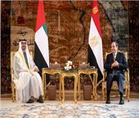محمد بن زايد: سعدت بلقاء الرئيس عبد الفتاح السيسي