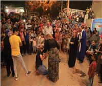 «مسرح الشارع».. عروض فنية للتوعية بـ«القضية السكانية» في حي الأسمرات