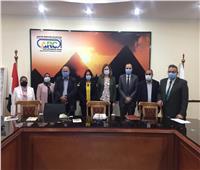 نائب المستشار الزراعي الفرنسي تؤكد سعي بلادها للتعاون مع مصر