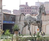 إحباط محاولة سرقة حصان ميدان الزقازيق