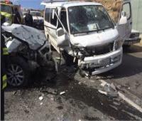 إصابة 13 شخصاً في حادث تصادم بكفر الشيخ