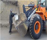 إزالة تعديات على الأراضي الزراعية.. ورفع 15 طن مخلفات بالأقصر