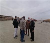 مسئولو «الإسكان» يتفقدون مشروعات مدينة العبور