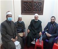 نائبا عن الوزير  وكيل أوقاف المنوفية يفتتح مسجد الرضوان بقويسنا