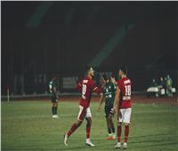 محمد شريف أفضل لاعب فى مباراة الأهلي وغزل المحلة
