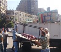 إزالة 623 حالة إشغال في بني سويف