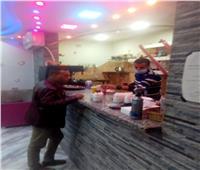 حملات رقابية على المطاعم والمقاهى لمتابعة الإجراءات الوقائية بالغردقة