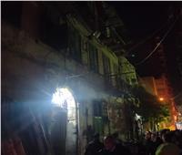 الإسكندرية: قطع المرافق عن عقار الجمرك المنهار حتى الانتهاء من رفع الأنقاض