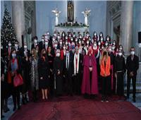 رغم كورونا.. كورال سان جوزيف يُقيم حفل ترانيم عيد الميلاد