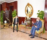 سفير العراق بالقاهرة يلتقي مندوب مصر الدائم لدى جامعة الدول العربية