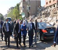 محافظ القاهرة يتفقد أعمال إزالة المرحلة الثانية لمنطقة الطيبي