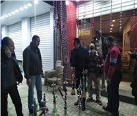 حملات بالإسكندرية لإزالة الإشغالات والالتزام بالإجراءات الوقائية