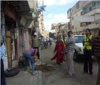 حملات للنظافة والتشجير بميادين وشوارع محافظة أسيوط
