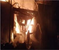 السيطرة على حريق بحظيرة مواشي في بني سويف