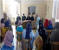 ثقافة المنيا تقدم «نموذج للمجموعة الشمسية» بأبوقرقاص