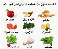 14 طعاما تعزز من عملية الديتوكس في الكبد
