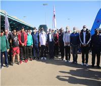 وزير الشباب يقود مسيرة للمشي بشرم الشيخ تحت شعار الرياضة للجميع