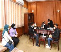 نائب محافظ قنا يستقبل أعضاء مبادرة «شباب يدير شباب»