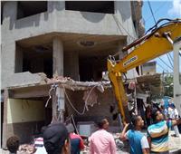 محافظة الإسكندرية: إزالة أعمال بناء مخالف بـ5 عقارات بأحياء المحافظة