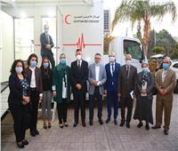 وزيرة التضامن: أعمال الهلال الأحمر المصري تمتد عربياً وإفريقياً