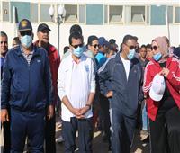 الوادي الجديد في 24 ساعة|وزير الرياضة يشارك في فعاليات المحافظات الحدودية