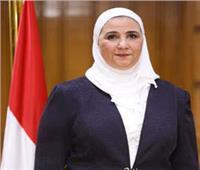 وزيرة التضامن تفتتح مشروع وحدات بيوجاز منزلية في المنيا