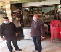 غلق 4 مقاهيورفع 194 حالة إشغال بمركزي دمنهور وإيتاي البارود