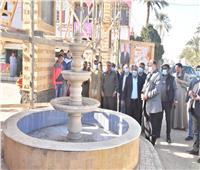 محافظ أسيوط يتفقد أعمال تطوير قرية «نزة قرار» بمركز منفلوط