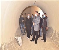 محافظ أسيوط يتفقد الأعمال الإنشائية لنفق الشيخ داوود ومستشفى القوصية