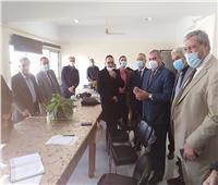 رئيس جامعة الأزهريتفقد امتحانات الدراسات العليا بكليات الطب.. صور