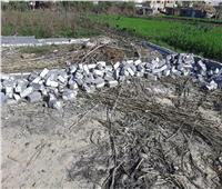 إزالة 4 حالات تعدي بالبناء بنطاق 3 مراكز بالبحيرة