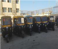 التحفظ على 540 مركبة مخالفة على محور المحمودية بالإسكندرية