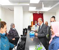 افتتاح المركز المطور لتقديم الخدمات التموينية بدشنا