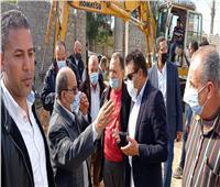 محافظ الإسكندرية يتابع مد خطوط مياه جديدة في 3 قرى و42 نجعا ببرج العرب