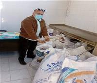 ضبط طن «بسكويت» قبل إعادة تصنيعه في حملة ببورسعيد