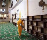 وكيل الأوقاف: تواصل أعمال تطهير وتعقيم المساجد في جميع المحافظات