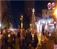 أكبر شجرة كريسماس في ميدان الخلفاوي لاستقبال العام الجديد