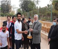 «التربية الرياضية» تفوز بكأس جامعة الأزهر لدوري كرة القدم