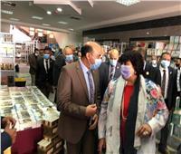 افتتاح معرض جامعة أسوان للكتاب بحضور وزيرة الثقافة