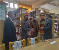 «نوعية المنوفية»تستقبل لجنة اختيار أفضل مكتبة جامعية