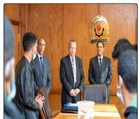 رئيس جامعة السويس لسفير موريتانيا: مستعدون لاستقبال الطلاب الوافدين