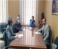 جامعة بنها تبحث التعاون مع المعامل المركزية للرصد البيئي