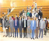 رئيس جامعة أسوان يعلن انتهاء انتخابات اتحاد الطلاب