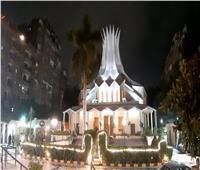 أجراس الكاتدرائية الأسقفية تعلن بدء قداس الكريسماس