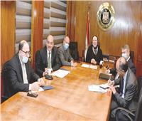 فريق مصري أردني لبحث احتياجات السوق العراقي وتأهيل المصانع