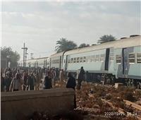 عاجل | تعطل حركة القطاراتبقنا.. وتوفير 83 سيارة لنقل الركاب