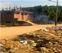تلال قمامة ومياه ملوثة.. الإهمال يحاصر 7 قرى في أسيوط