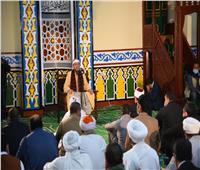 وزير الأوقاف ومحافظ مطروح يفتتحان مسجد «أولاددغيم» بالعلمين